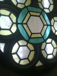 Rose window, inside